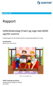 Forsiden til Sintef-rapporten